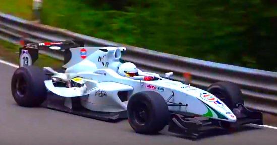 Victoire d'Anthony Loeuilleux en GP3