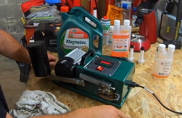 Gaillard le Bricoleur teste le P18 au frictiomètre